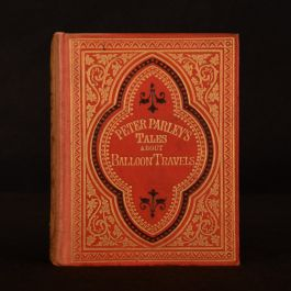 1856 The Balloon Travels of Robert Merry and His Young Friends Peter Parley Illustrated