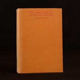 1927 First Thus The Case Book of Sherlock Holmes A Conan Doyle