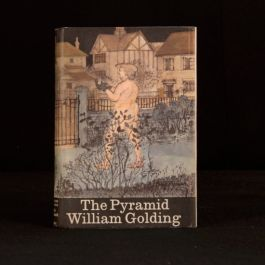 1967 The Pyramid William Golding First Edition Dustwrapper Novel Leonard Rosoman