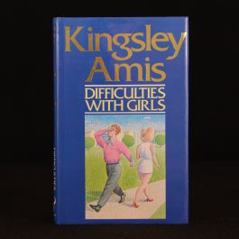 1988 Kingsley Amis Difficulties With Girls Signed Dustwrapper First Ed