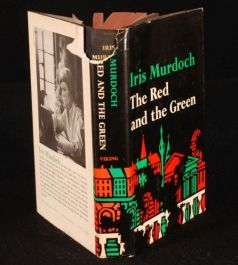 1965 IRIS MURDOCH The Red and The Green D/J US 1ST
