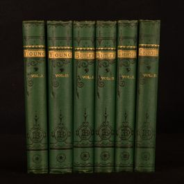 c1866-1892 3vol in 6 Aldine Edition of the British Poets Young Butler Churchill