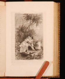 1881 PAUL VIRGINIA Memoir B. SAINT PIERRE Limited Illus