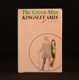 1970 The Green Man First Edition With Dustwrapper Kingsley Amis Novel