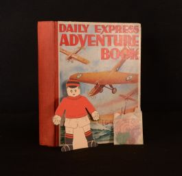 1934 Children's Annual Daily Express Adventure Book Scarce Game Counters Spinner