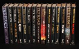 1987-2006 15vol DICK FRANCIS Novels FIRST Dust Wrappers