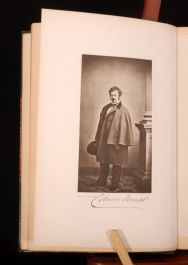 1889 EDWIN FORREST Actor Man Gabriel Harrison Limited First Illustrated Signed