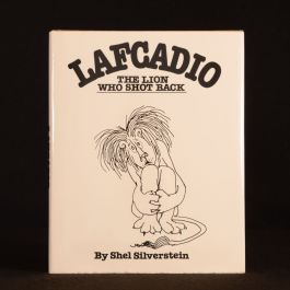 1963 Lafcadio The Lion Who Shot Back Shel Silverstein Illustrated Childrens