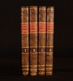1832-33 4vol Luisa Stozzi Story of the XVI Century Giovanni Rosini Italian