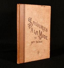 1888 Savouries a la Mode