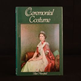 1980 Ceremonial Costume Alan Mansfield Royalty Dustwrapper First Edition Illus