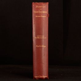 1889 Memoirs of Count Grammont Anthony Hamilton Illustrated Biography Limited Ed