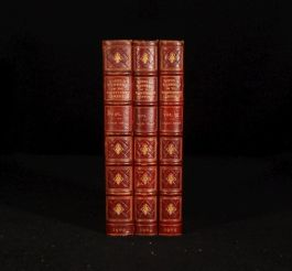 1909 3vol Modes Manners Nineteenth-Century Picture Engravings