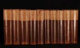 1882 10 Vols Works of HENRY FIELDING Limited Edition