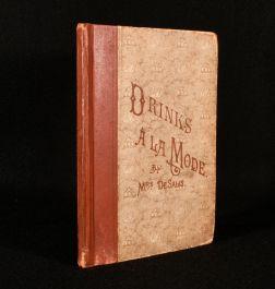 1892 Drinks a la Mode
