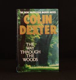 1992 The Way Through The Woods First Edition Signed Colin Dexter Inspector Morse