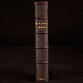 1842 Catholic Churchman In His Life and In his Death B Davis Winslow Scarce