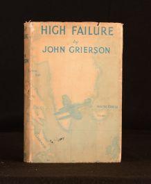 1936 High Failure Solo Along the Arctic Air Route John Grierson Illus 1st