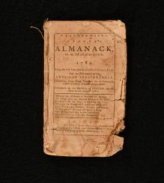 1788 Weatherwise's Federal Almanack for the Year of Our Lord 1789