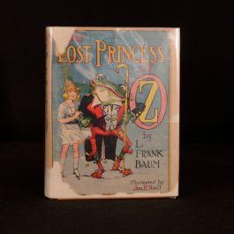 c1940 The Lost Princess of Oz L Frank Baum Dustwrapper John R Neill Childrens