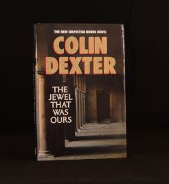 1991 The Jewel That Was Ours Colin Dexter First Edition Signed Inspector Morse