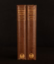 1886 2vol Gentleman's Magazine Library Archaeology George Gomme 1st