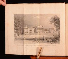 1839 Wesleyan Proprietary Grammar School Very Scarce Folding Frontispiece