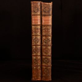 1740 2vol The Works of Sir William Temple to Which is Prefixed The Life Letters