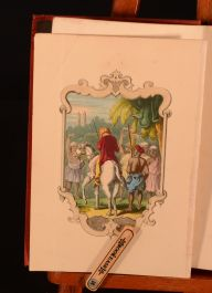 1861 Gooroo Simple by Alfred Crowquill Illustrated Coloured Frontispiece