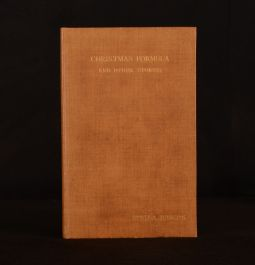 1932 Christmas Formula and Other Stories Stella Benson Illus Signed Limited Ed