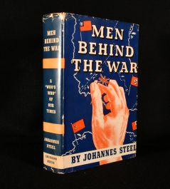 1942 Men Behind the War a 'Who's Who' of Our Time