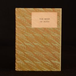 1926 The Book of Ruth Engravings David Graves Limited Edition Scarce