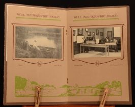 1927-1931 2vol Hull Photographic Society Annual Exhibition Illustrated Very Scarce