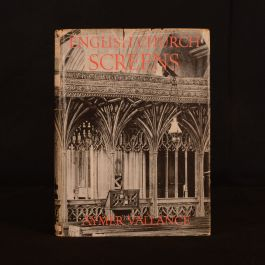 1936 English Church Screens Parish Churchs In England and Wales Aymer Vallance