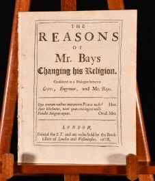 1688 The Reasons of Mr Bays Changing His Religion