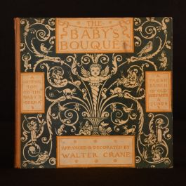 1878 The Baby's Bouquet A Fresh Bunch of Old Rhymes and Tunes Walter Crane Music
