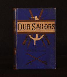 1885 Our Sailors British Navy W. H. G. Kingston Children's Frontispiece