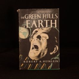 1951 The Green Hills of Earth Robert Anson Heinlein First Edition Dustwrapper