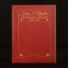 1904 John N Rhodes William H Thorp Illustrated Limited Edition