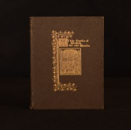 1908 Of The Tumbler of Our Lady Other Miracles Alice Kemp-Welch Illustrated 1st