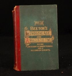 c1874 BEETONS Men Age Annals Time Scarce
