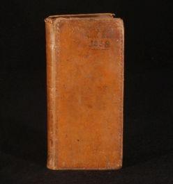 1837 HOPPUS'S TABLES FOR MEASURING E. Hoppus Leather