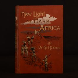1891 New Light On Dark Africa Dr Carl Peters First English Edition Illus Folding Map