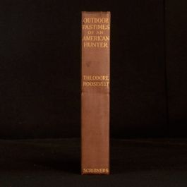 1905 Outdoor Pastimes of An American Hunter Theodore Roosevelt Illustrated