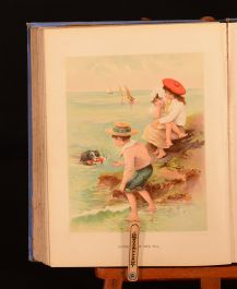 1901 Chatterbox J. Erskine Clarke Illustrated Coloured Plates First Edition Scarce