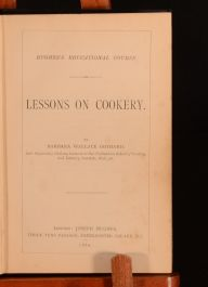 1880 Lessons on Cookery