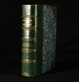 1839 The Life and Adventures of Nicholas Nickleby