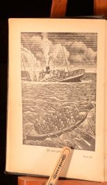 c1937 Various Authors Conrad And Marryat Fifty Great Sea Stories With Plates