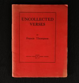 1917 Uncollected Verses