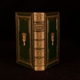 1854 Samuel Rogers Italy A Poem Signed Binding Poetry Verse Grand Tour